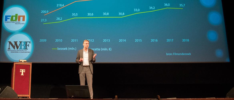Bioscoopbezoek licht gedaald in 2018, omzet blijft stijgen